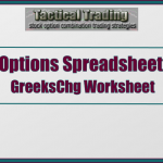 Options Price And Greeks Change In A 30 Day Period