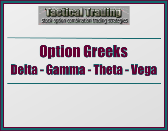 Option trading delta gamma theta vega