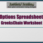 Options Pricing Spreadsheet For Theoretical Values And Greeks