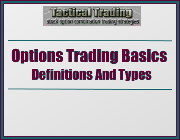 Basic stock option trading