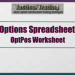 Option Position Spreadsheet For Graphing Current Profits