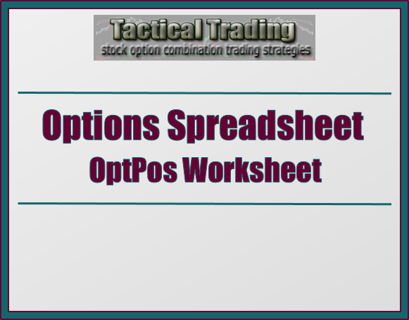 Trading options spreadsheet